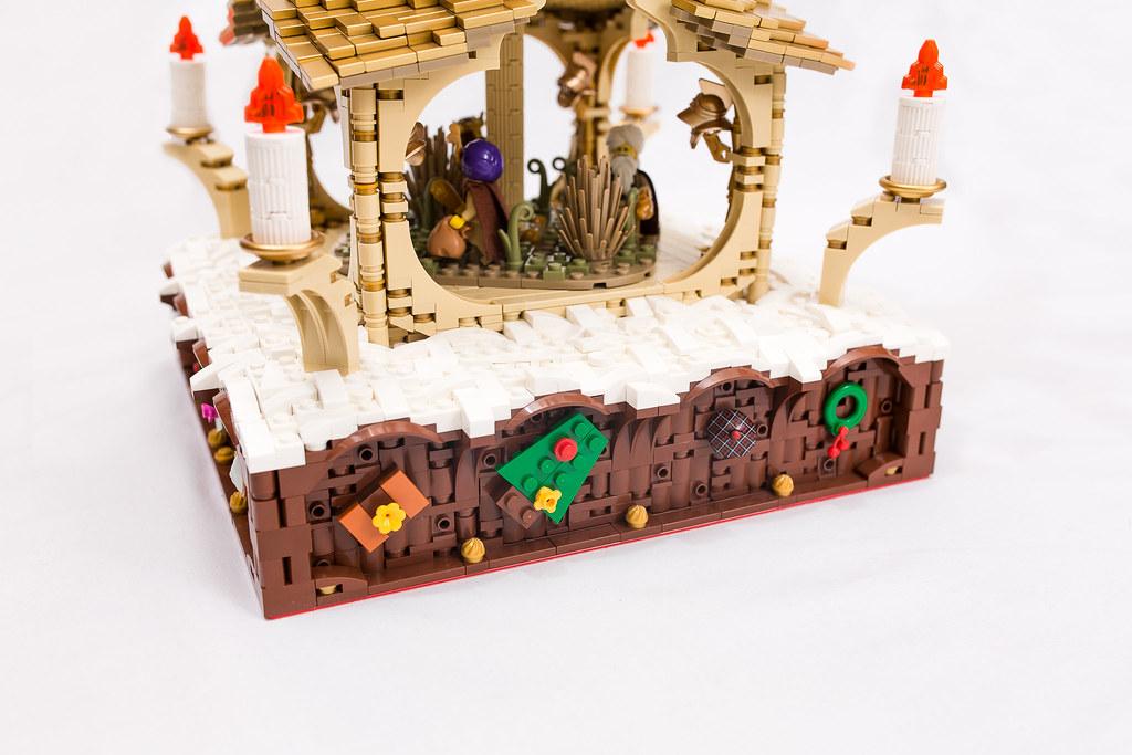 [BuildtheBrick #2]: Weihnachtspyramide 23247906833_f2f05b5235_b