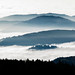 Les nuages embrassent les crêtes Vosgiennes by Aurélien GROSJEAN