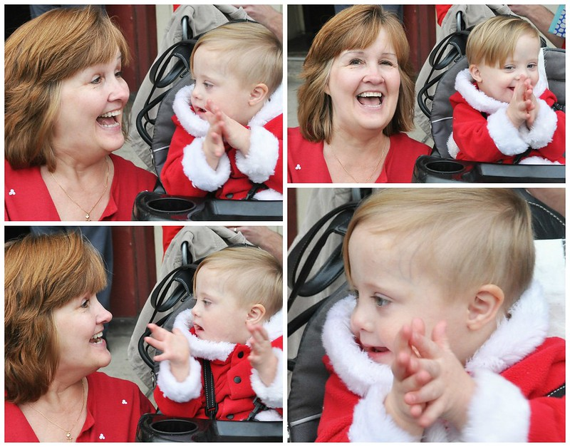 Liam and MaNa at Christmas Parade
