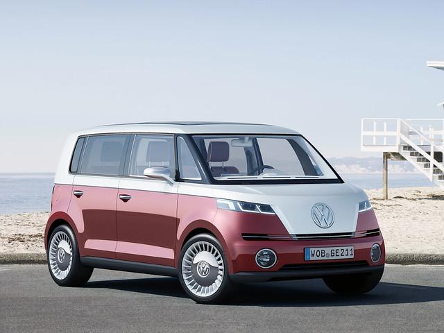Минивэн Volkswagen Bulli Concept. 2011 год