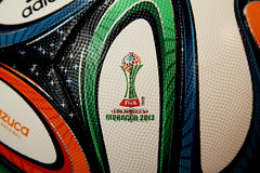 BRAZUCA FIFA CLUB WORLD CUP MOROCCO 2013 ADIDAS OFFICIAL MATCH BALL 11