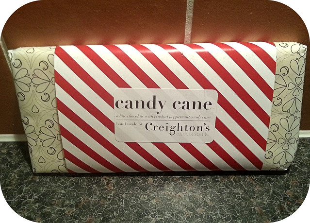 Creighton's Candy Cane Chocolate Bar