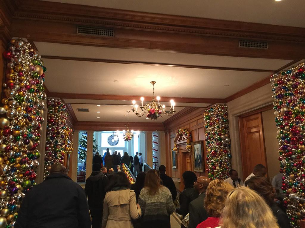 Start of White House Tour