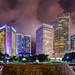 Miami Skyline by Stuck in Customs