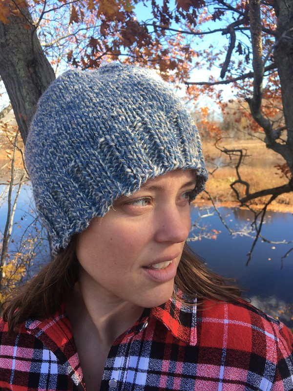 Fall Wardrobe--A Knitted Hat