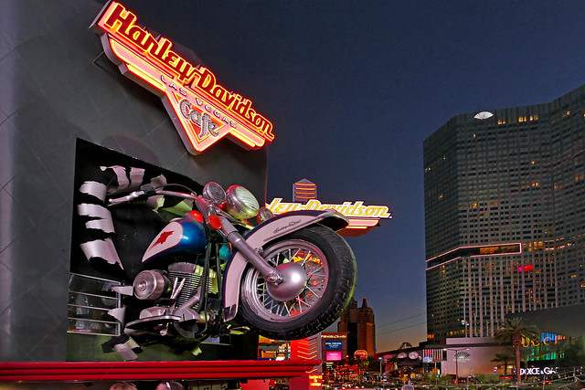 Harley-Davidson Cafe. Las Vegas.