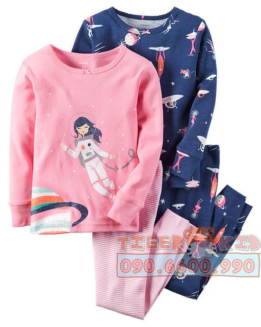 Bộ set Pijamas nhập Mỹ bé gái