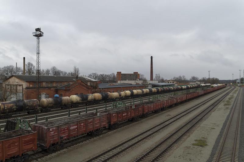Valga raudteejaam, 03.01.2015.