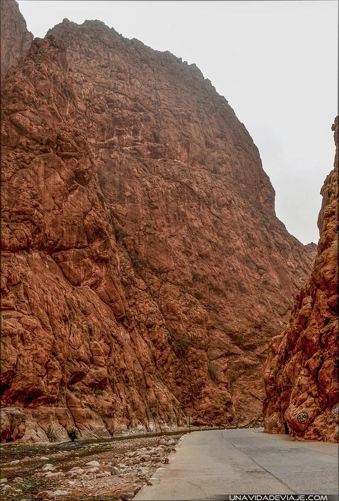 Marruecos sur Gargantas Todra