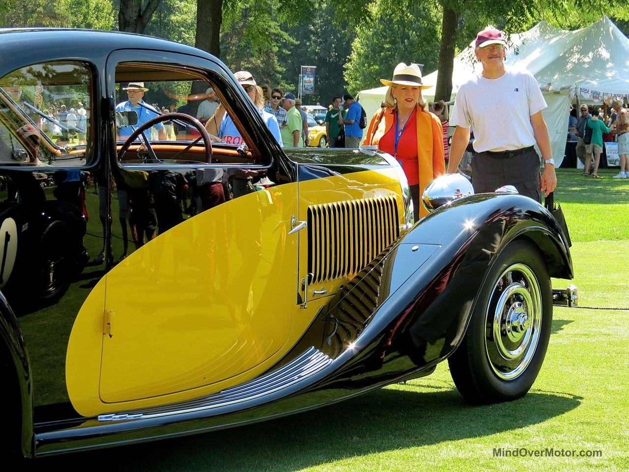 Bugatti Type 57 Concours Of America 2