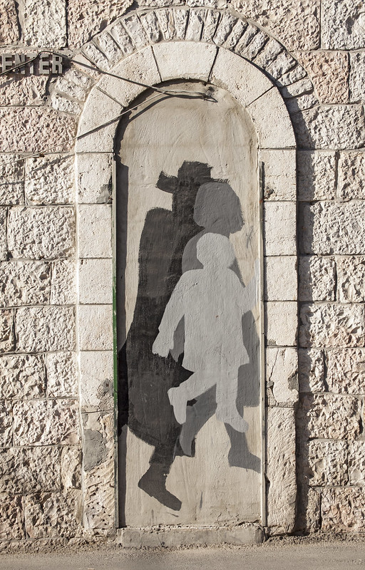Street art in the Street of the Prophets