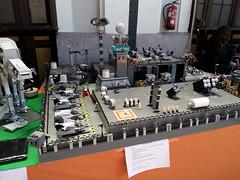 LEGO IMPERIAL BASE PRESENTED AT ALEBRICKS 2015 IN MADRID, SPAIN