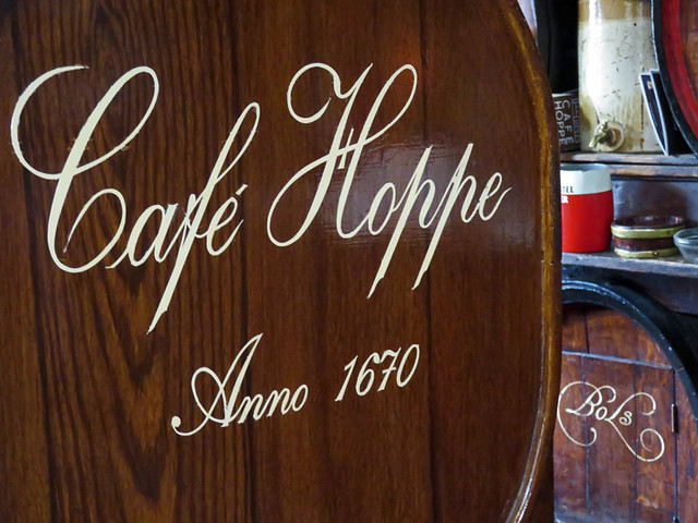 Café Hoppe, a 'brown cafe' (historic pub) in Amsterdam