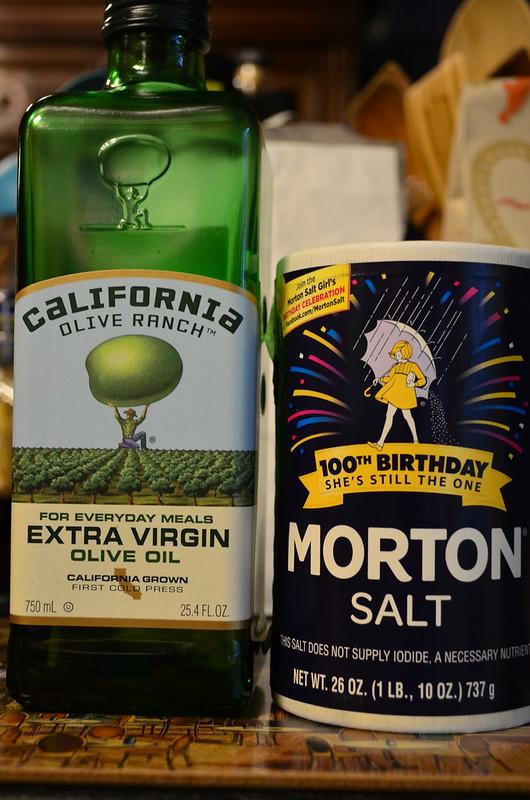 Olive Oil and Salt