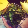 Can't get enough. Kale chips are so, so easy. :two_hearts: