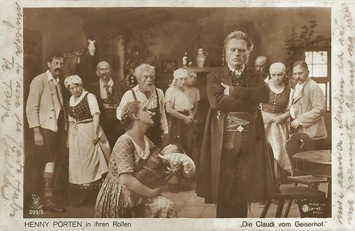 Henny Porten in Die Claudi vom Geiserhof