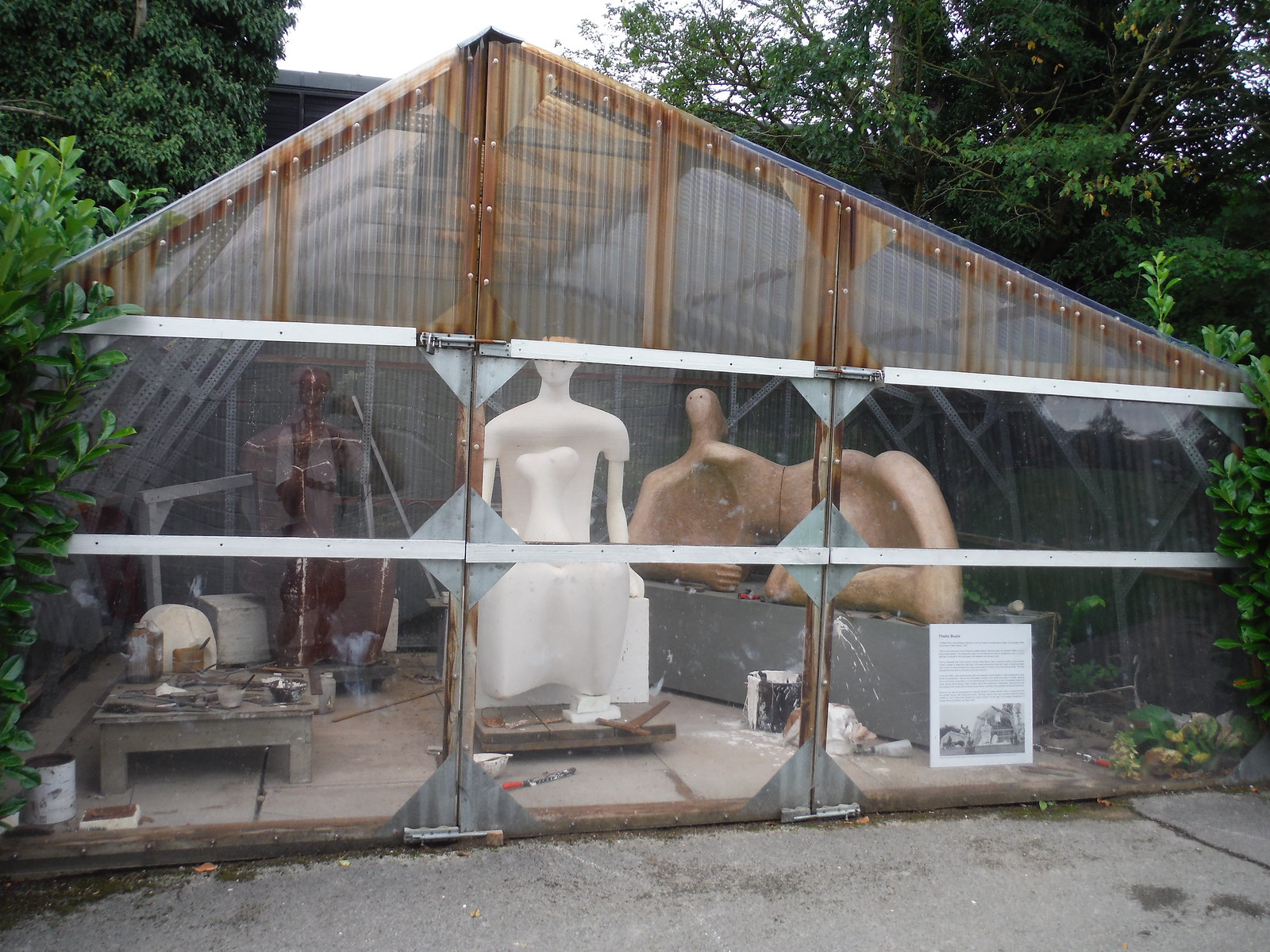 Plastic Studio, Henry Moore Foundation SWC Walk 164 Roydon to Sawbridgeworth via Henry Moore Foundation