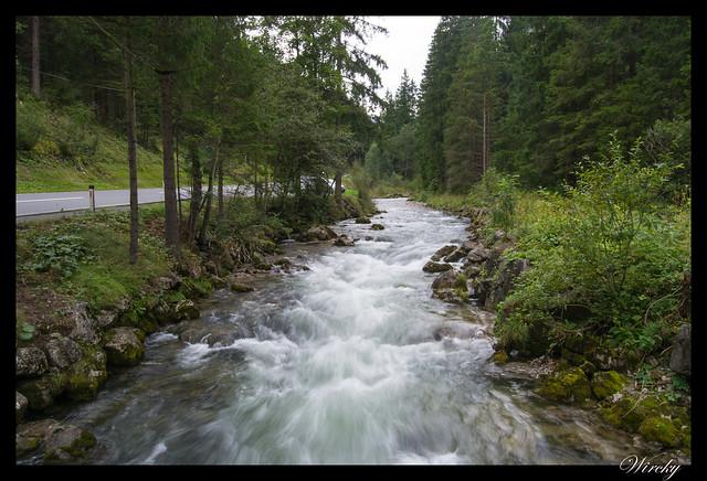 Riachuelo cerca de Ehrwald