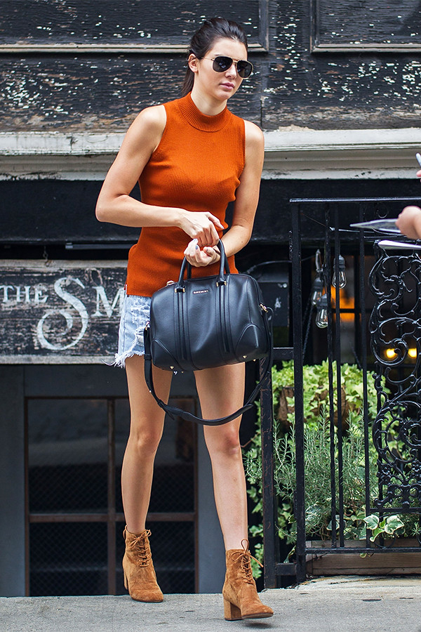 Kendall Jenner Leaving The Smile in East Village, New York City