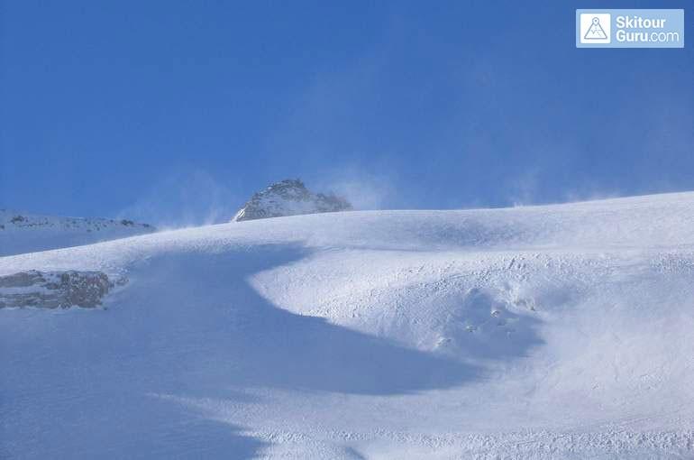 Typické lavinové situace ii. - navátý sníh