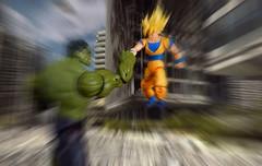 Goku vs Hulk. First Impact