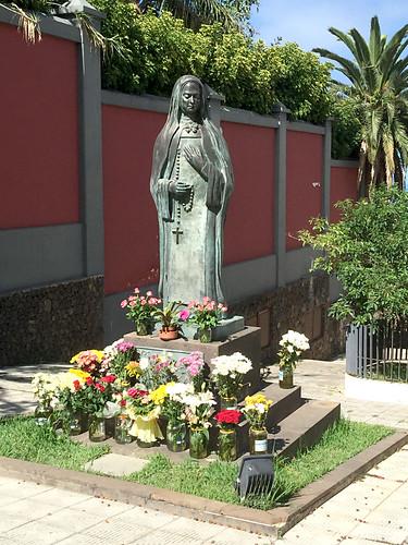 Sister Maria de Jesús, El sauzal