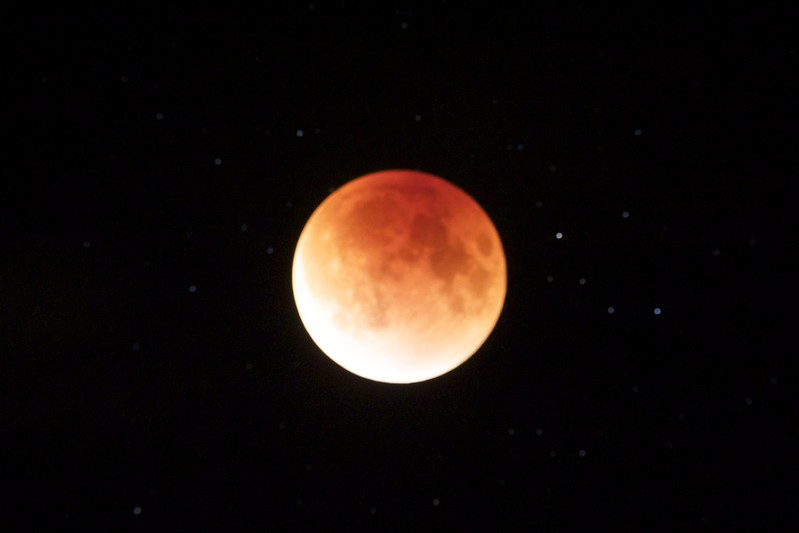 The Infamous Red Moon