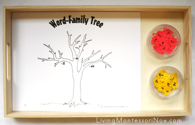 Word-Family Tree and Leaves