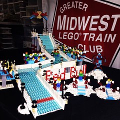 #redbull #crashedice #GMLTC group build with only #legowinterskating sets