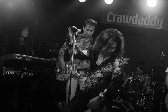 Molten Gold live at Crawdaddy Club, Tokyo, 12 Sep 2015. 183