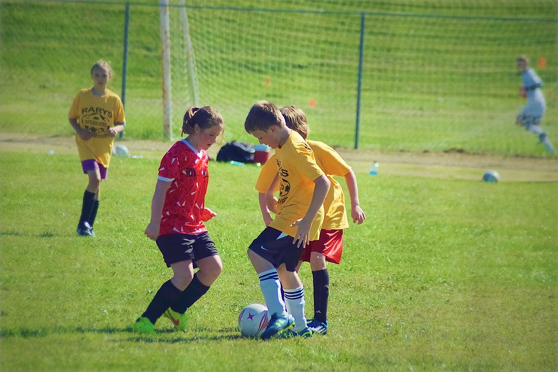 day 4088 - 253/365. first game of the 2015 driftless united futbol season!