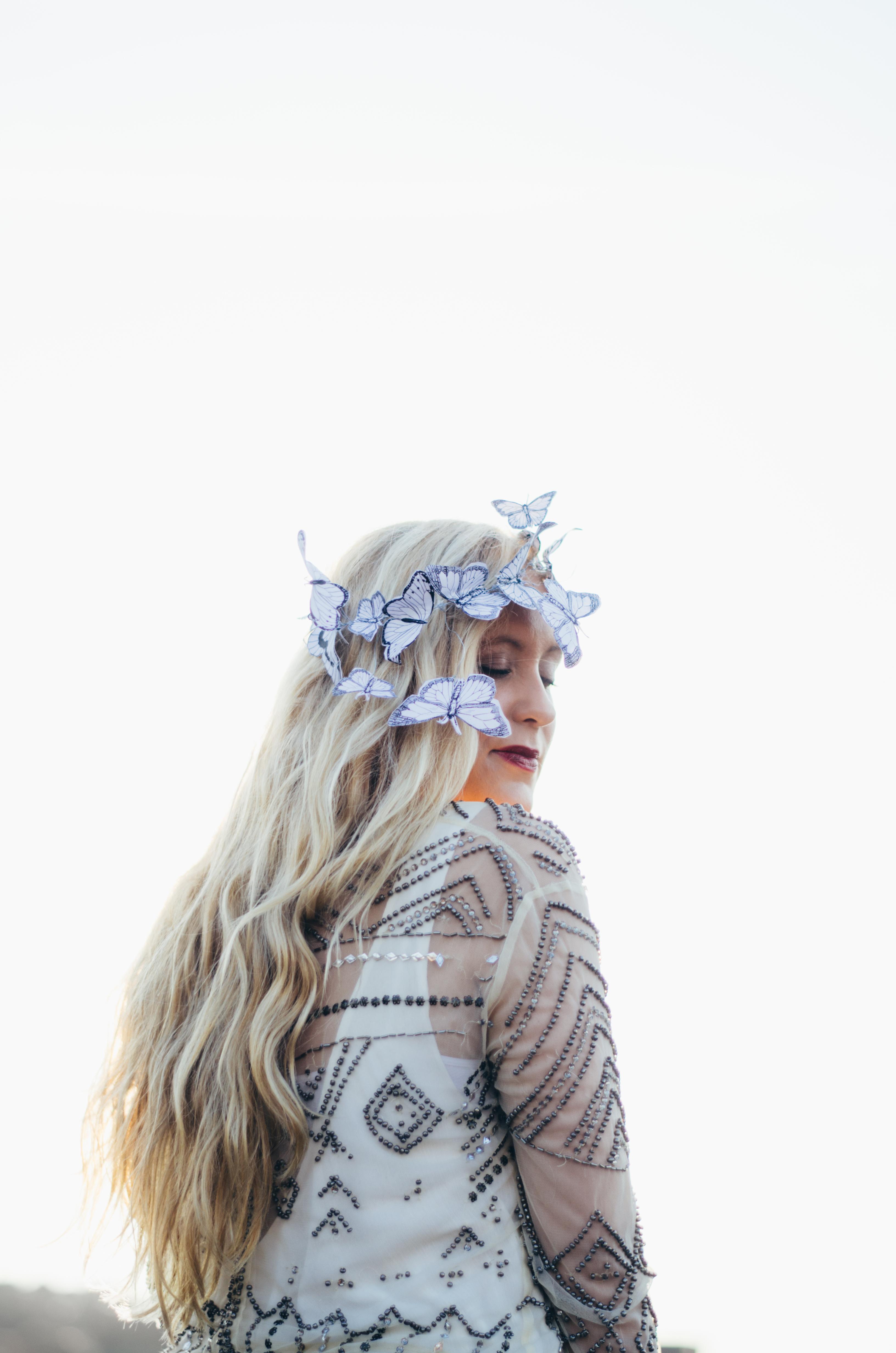 Butterfly Crown on juliettelaura.blogspot.com