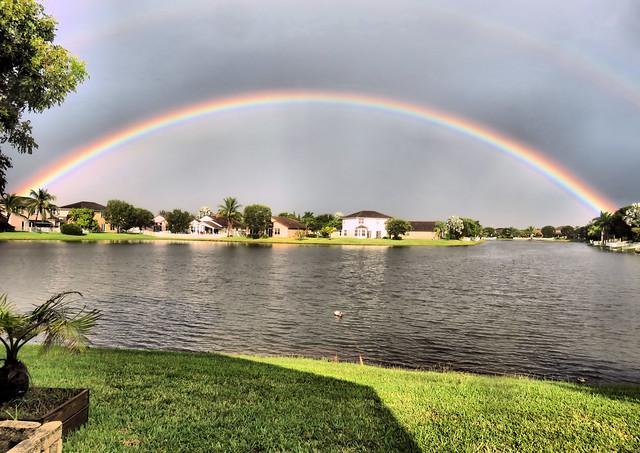 Rainbow HDR 20151007