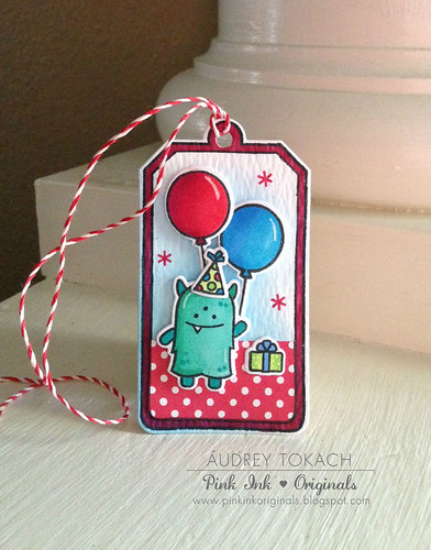 Monster Birthday Tag