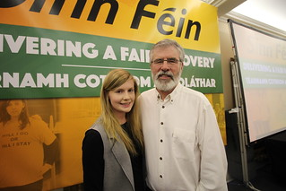 Claire Kerrane & Gerry Adams