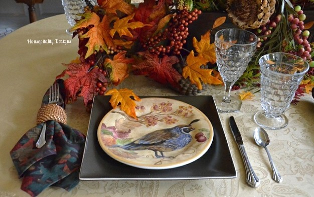 Fall Tablescape with Pottery Barn - Housepitality Designs