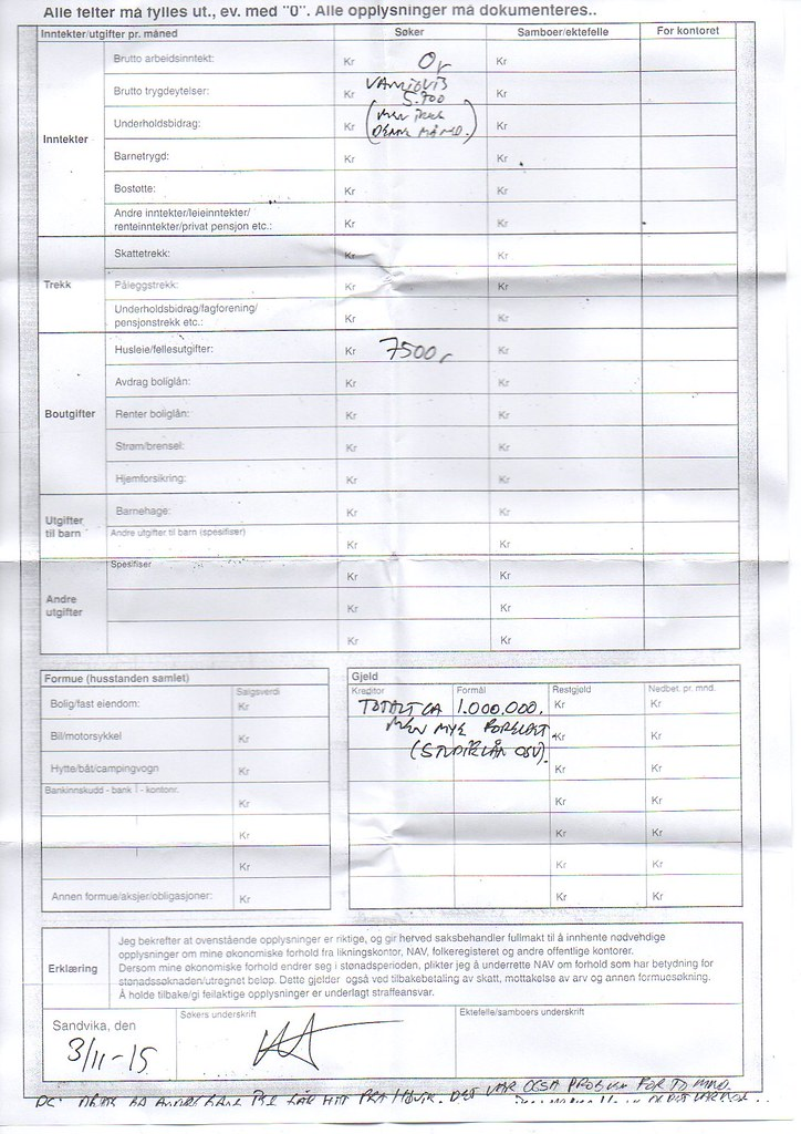 nødlånsøknad side 2