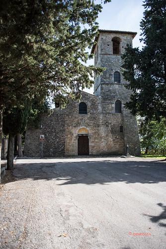 Canzano (TE): chiesa di San Salvatore, XII sec. (2015)