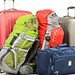 Luggage consisting of large suitcases rucksacks and travel bag by onlinecheckinpal
