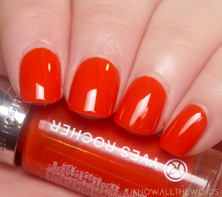 YVES ROCHER GEL EFFECT BLOOD ORANGE