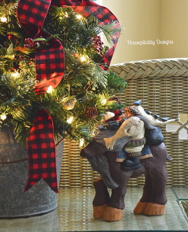 Christmas Tree in Galvanized Bucket - Housepitality Designs