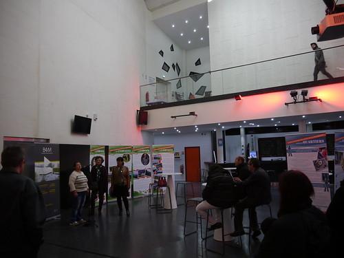 Exposition de l'association Contact - BAM - Novembre de l'Egalité 2015