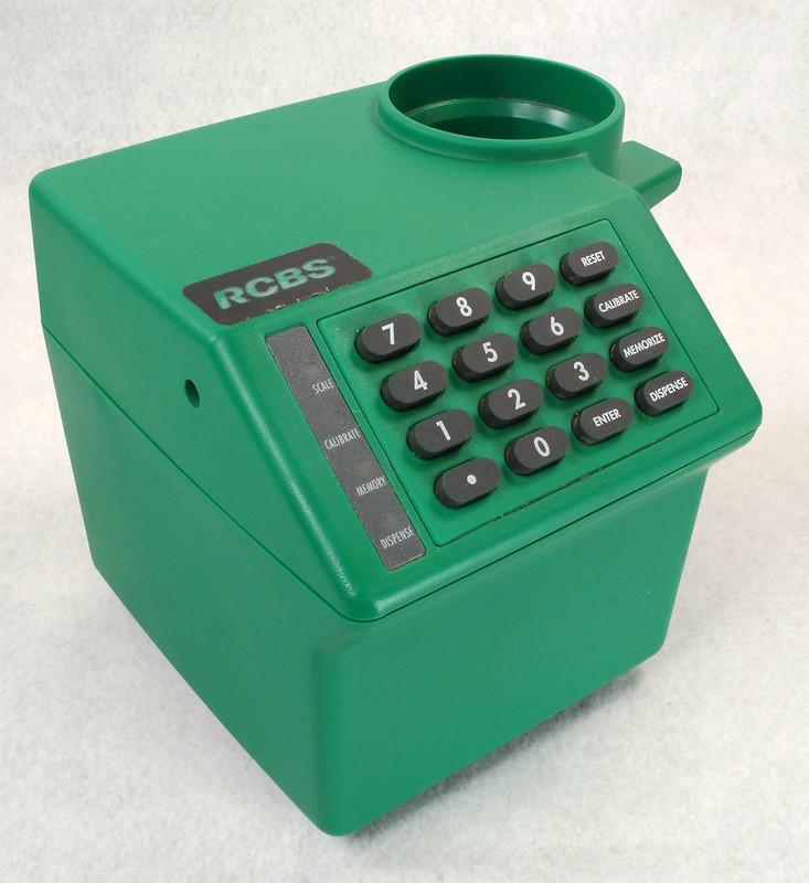 RD14599 RCBS PACT Electronic Digital Precision Powder Dispenser & Scale RD14598 DSC06352