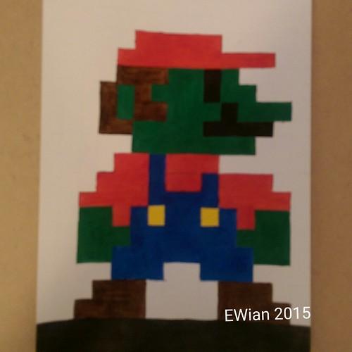 8bit Super Mario zombie
