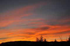 Fire at Dusk / 2015-12-04