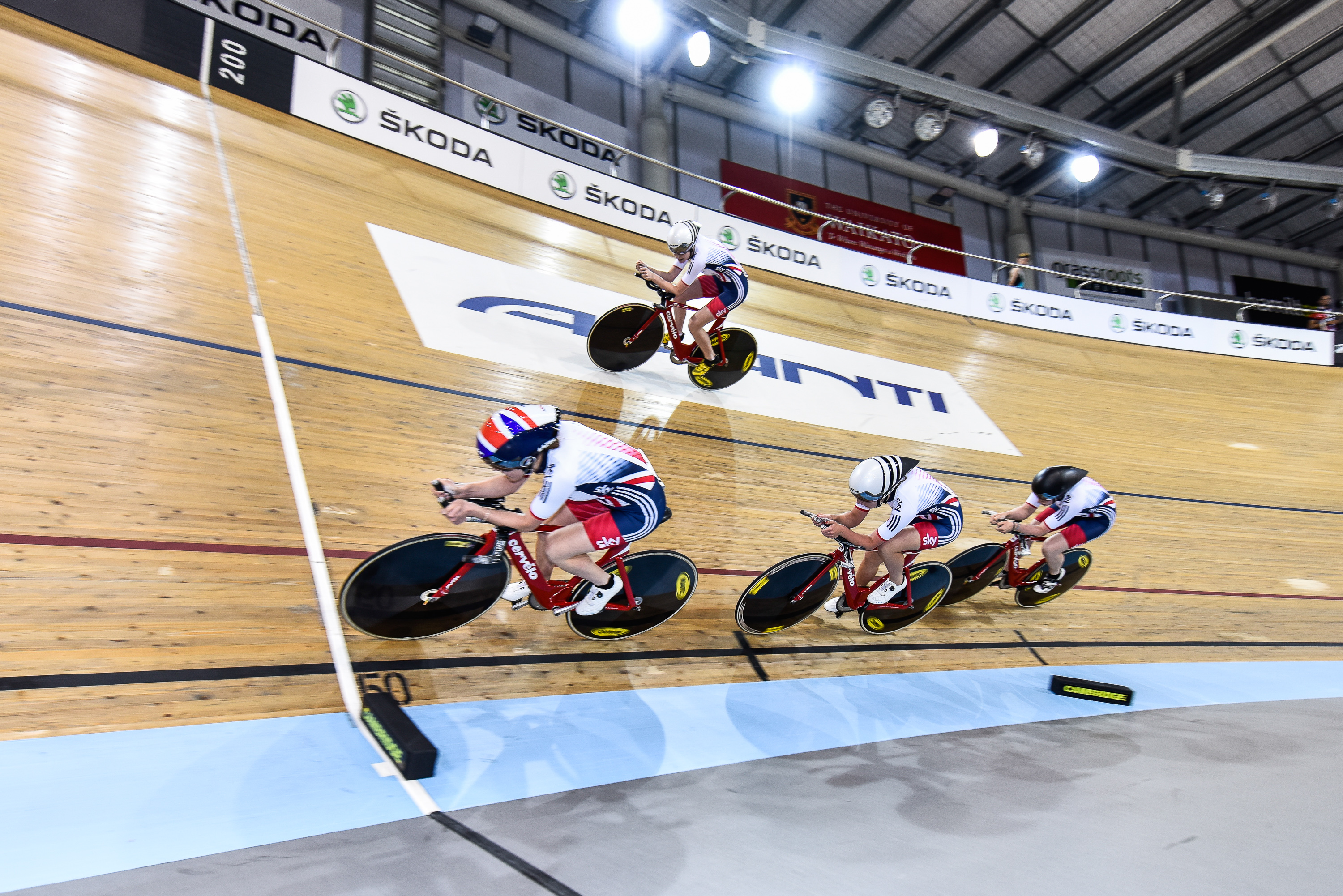 2015/16 UCI Track Cycling World Cup - Cambridge, NZ - day two
