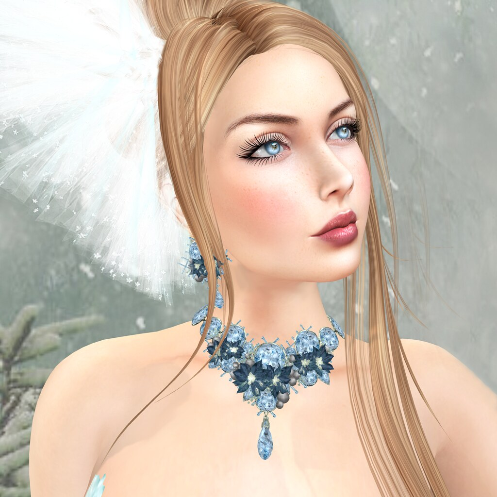 Maggie catwa applier, DeeTaleZ, Noel set by Zuri Rayna Jewelry, IKON eyes
