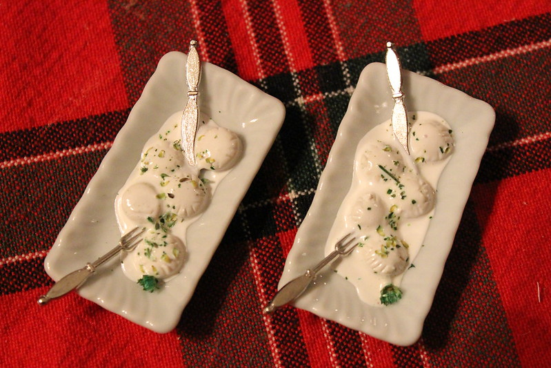 Chef Gina Mini Doll Food (1/6th scale)