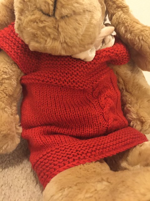 Milo Baby Vest in Christmas Red