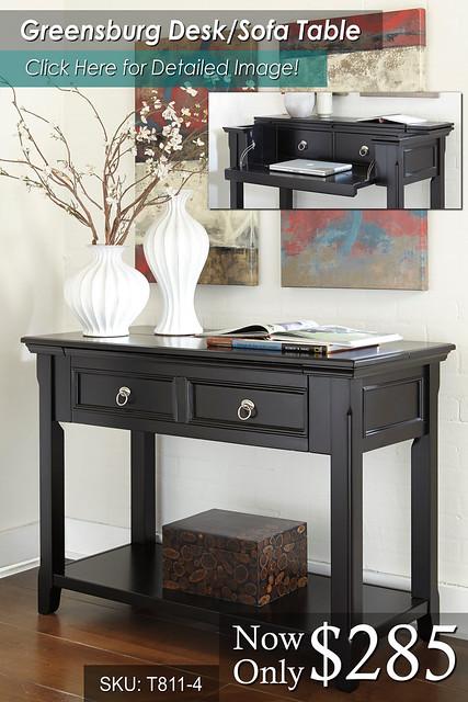 Greensburg Desk Sofa Table